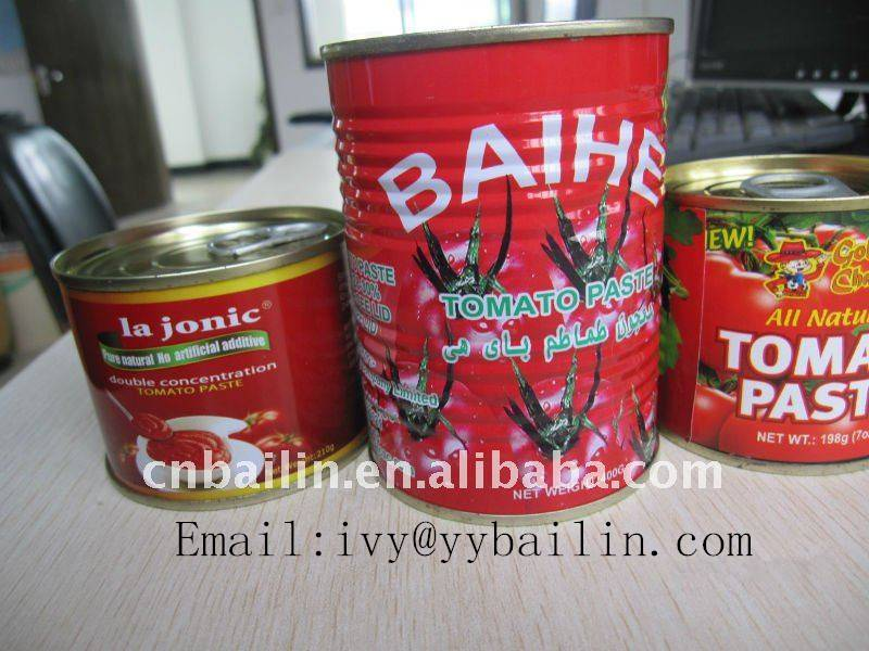 2016 New crop canned tomato ketchup/canned tomato paste
