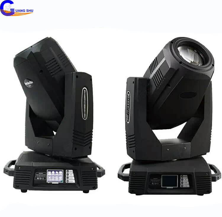 PRO DMX 17R Sharpy 350W BEAM SPOT WASH 3in1 Stage Moving Head Light