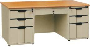 CBNT Double bucket office desk