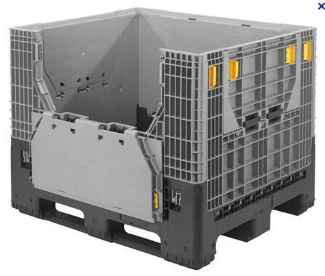 folding plastic pallet box 1200*1000*975