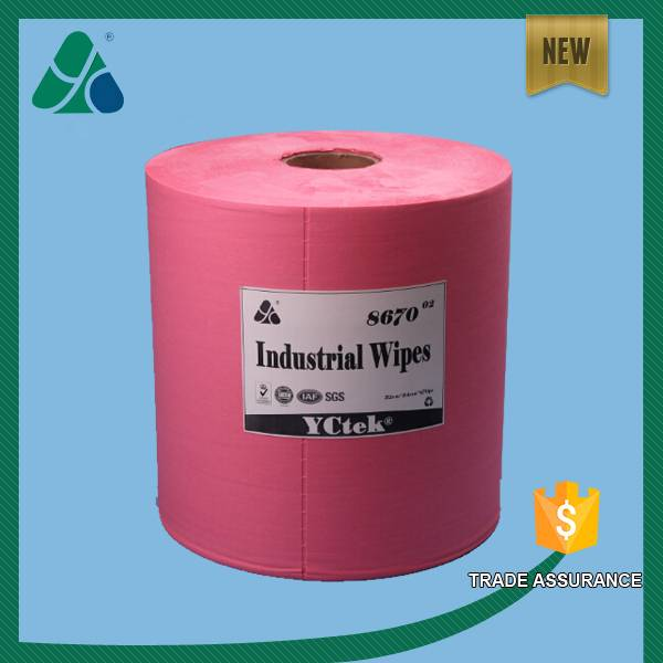 X70 Wood Pulp Polypropylene Cleaning Wipes