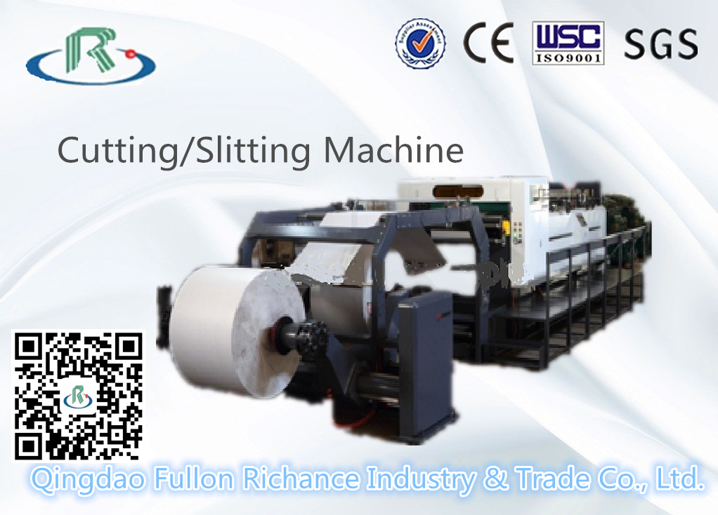 Zw-40 Type Roll Sheeter & Paper Roll Cutting Slitting Machine