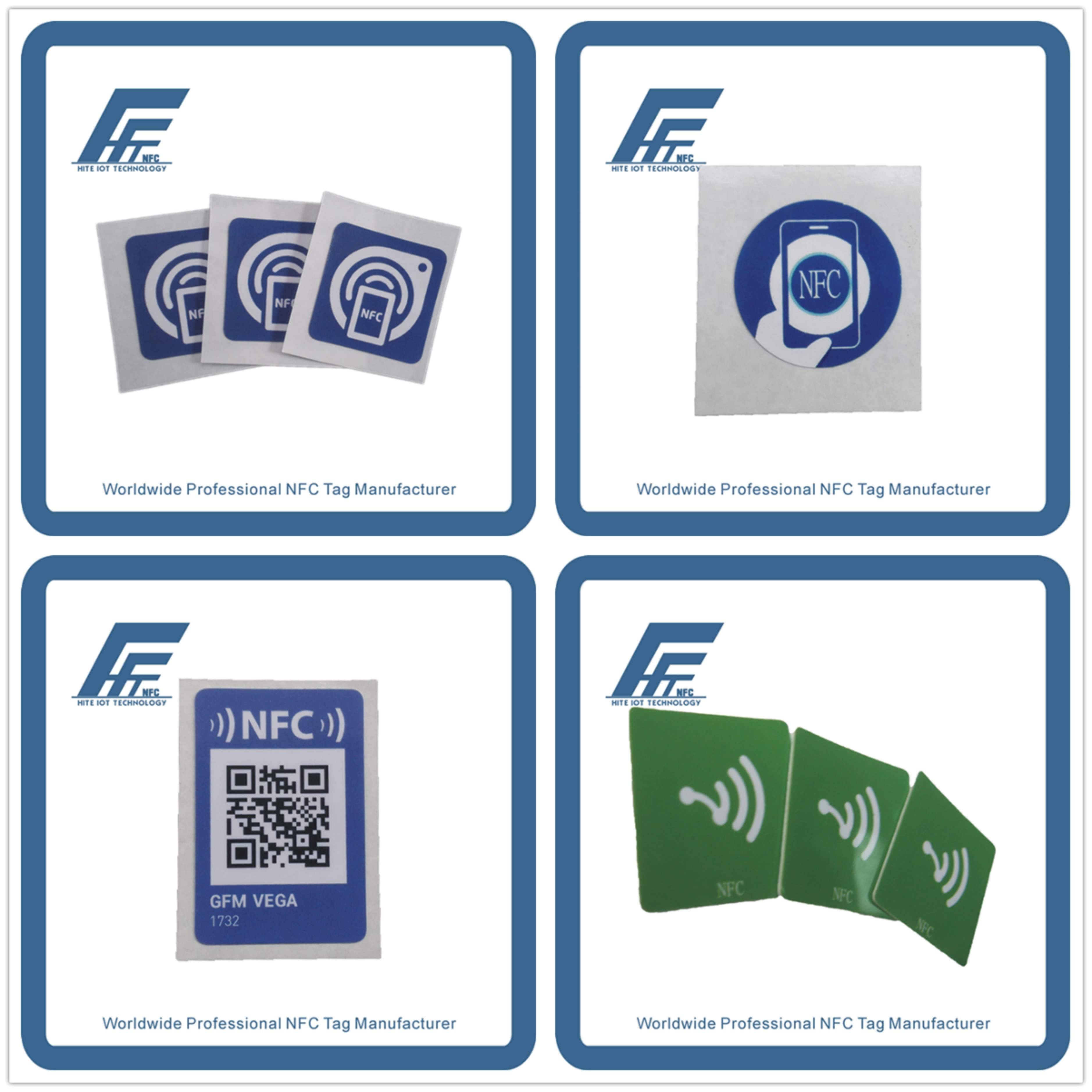 Customized NFC tags NFC stickers NFC labels