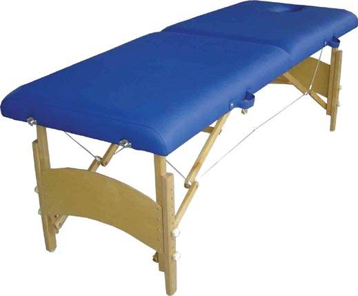 Simple two fold wooden massage table MT-003
