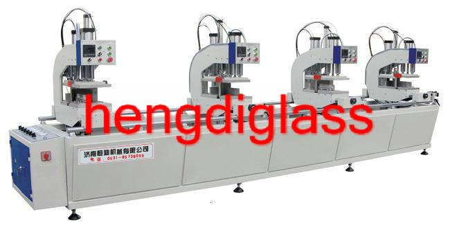 CNC Vertical Four-Point Welding Machine