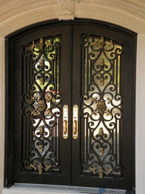 Best quality wrought iron door