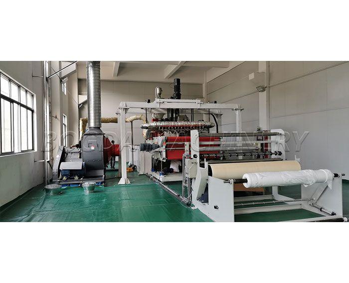 Hanger Type Design 1600mm BFE99 Medical Filter Material PP Melt Blown