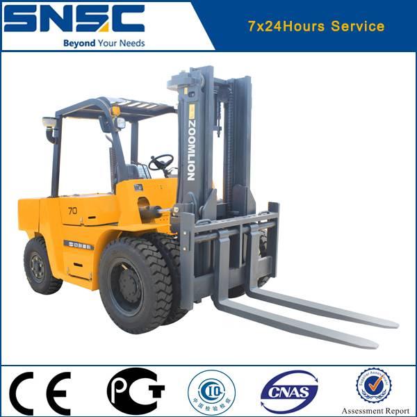 7 ton diesel forklift for stone work