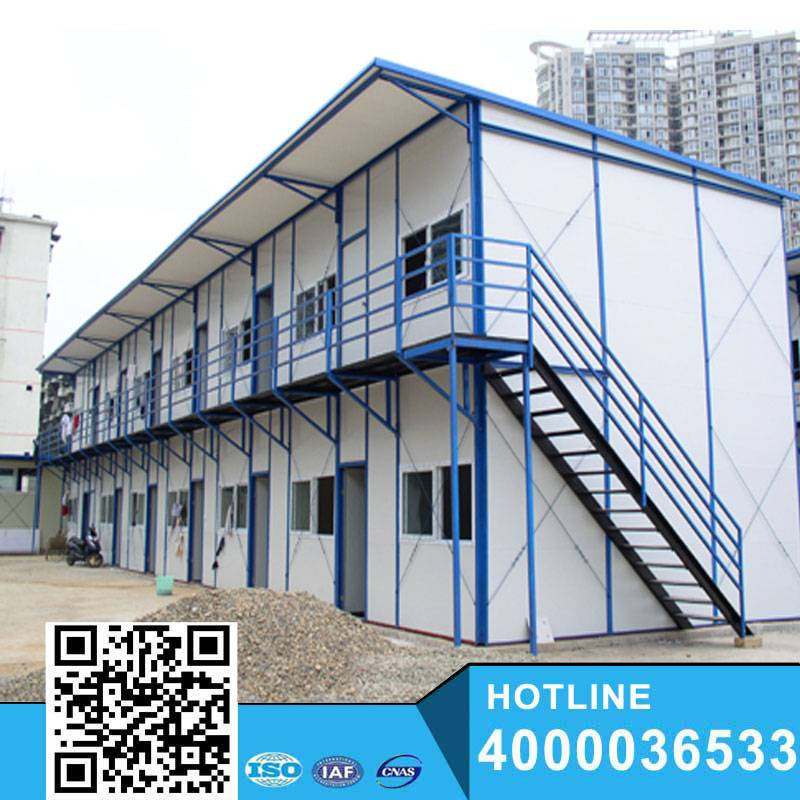 Color steel high quality modern prefabricated house prices