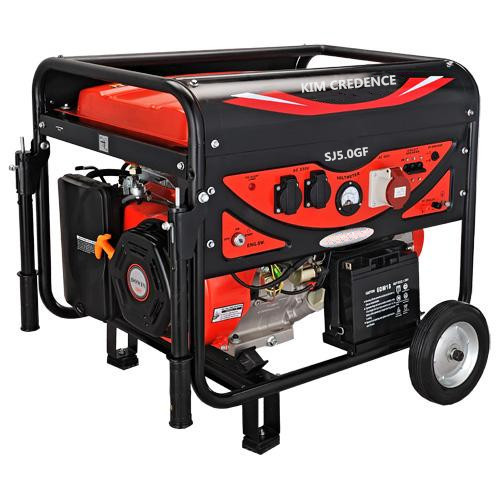 5KW Gasoline generator sets with electric Start