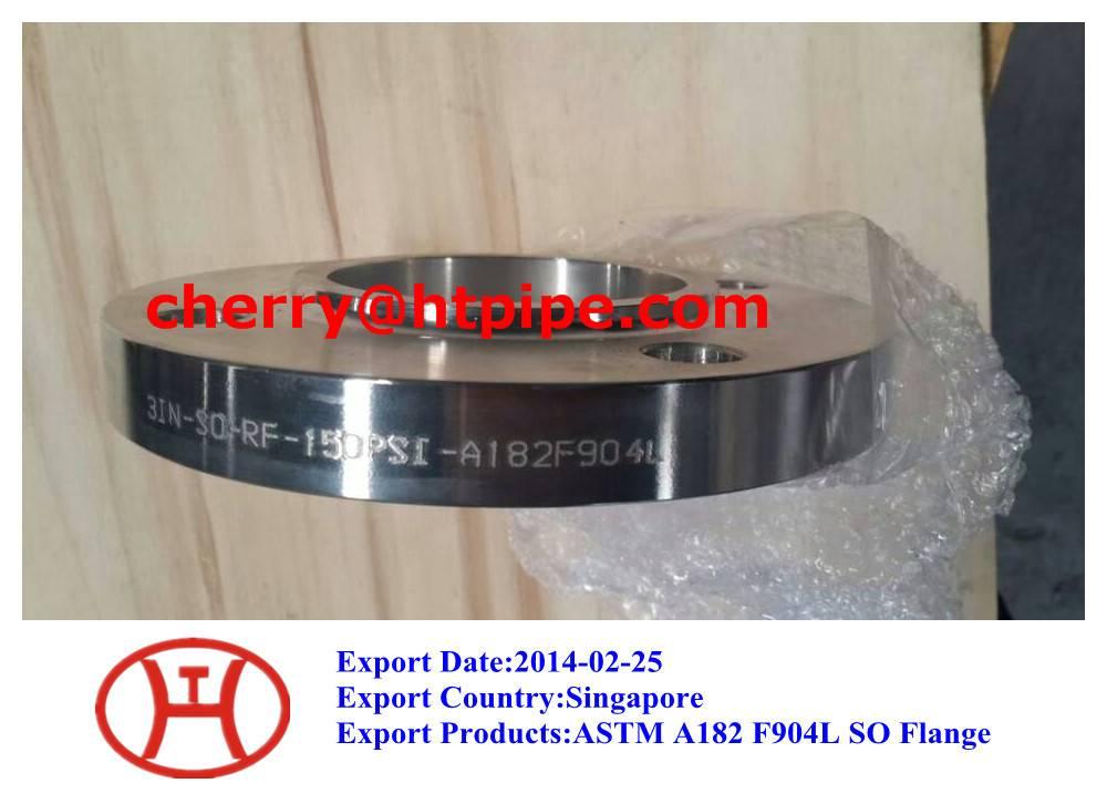 ASTM A182 F904L SO flange