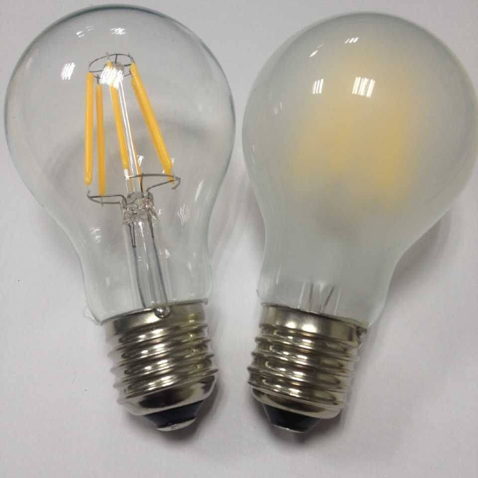 LED filament light bulbs Warm white