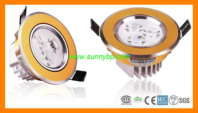 2015 The Most Hot-Selling Dimmable LED Downlight (CRI>80 150 Degree)