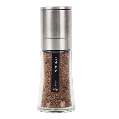 Premium Black garlic Sea Salt_Lo grinder 60g in South Korea