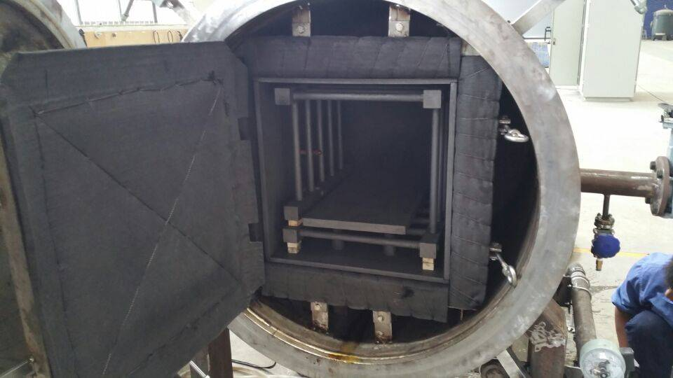 Energy saving and high performance graphite film carbonization furnace
