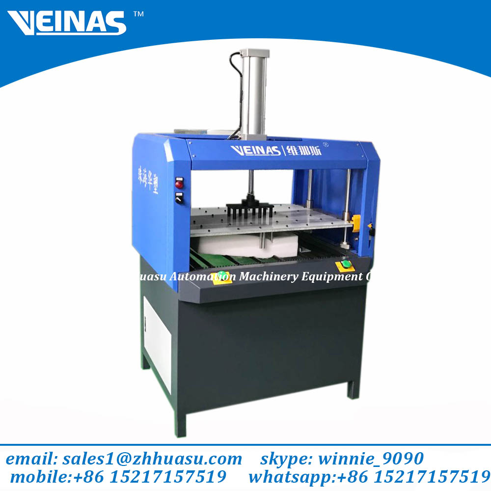 Veinas Expanded Polyethylene Foam discharge machinery