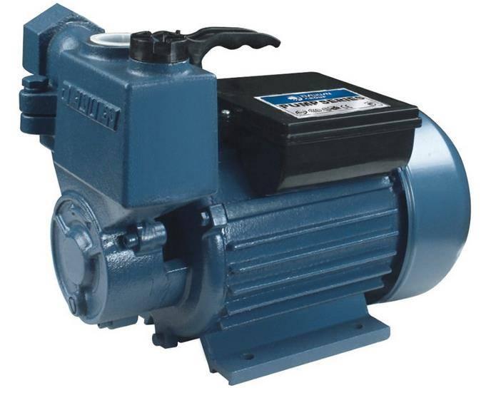 Self-priming vortex pump series