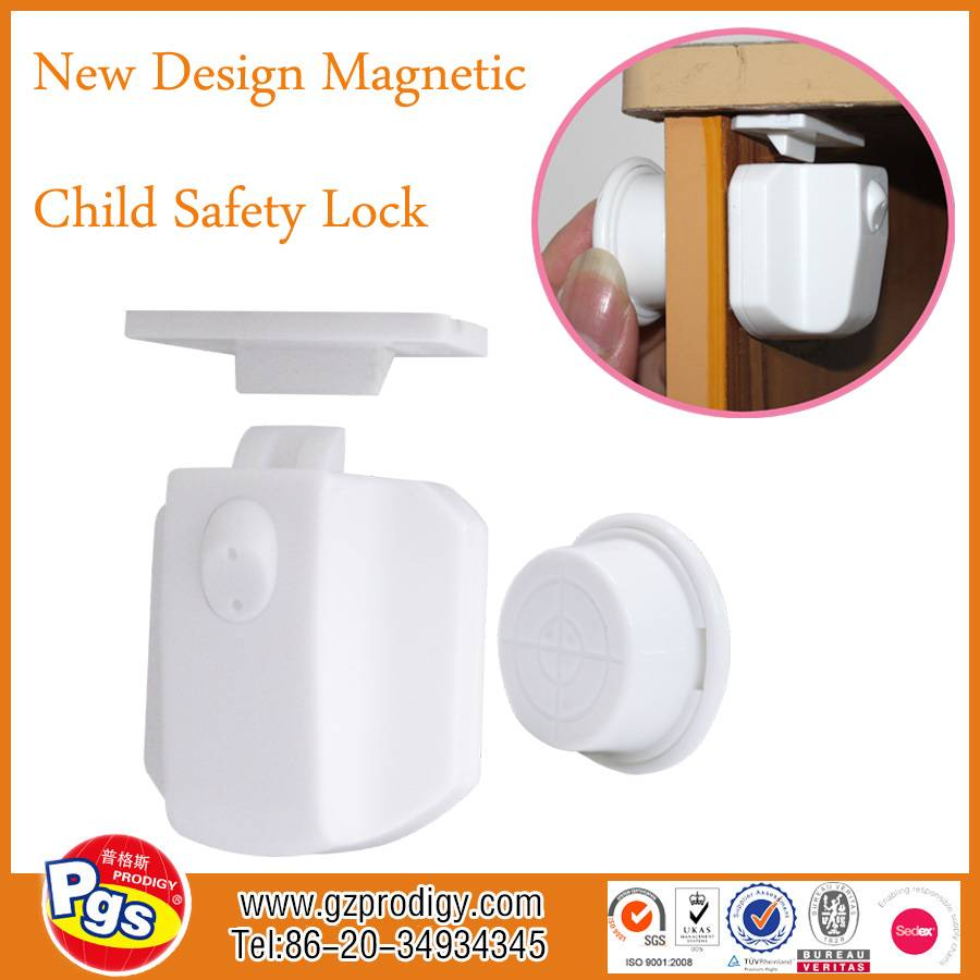 baby proofing child safety magnetic cabinet lock 8 locks + 2 key