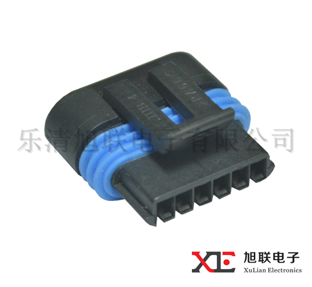 6 way ABS female harness connector auto harness connector 12162210