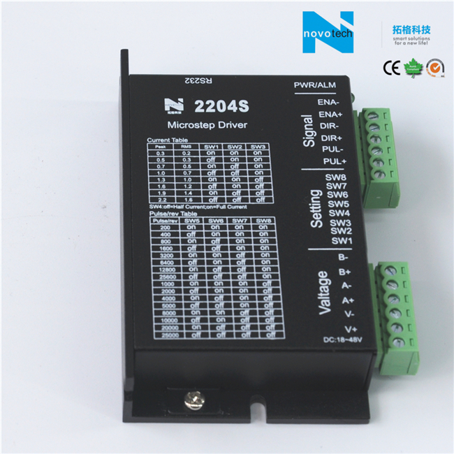 2204s Digital Two-Phase Stepper Motor Driver/Drive