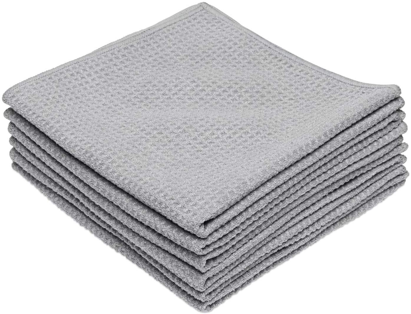 China supplier wholesale Microfiber Waffle Weave Kitchen Dish Drying Towels