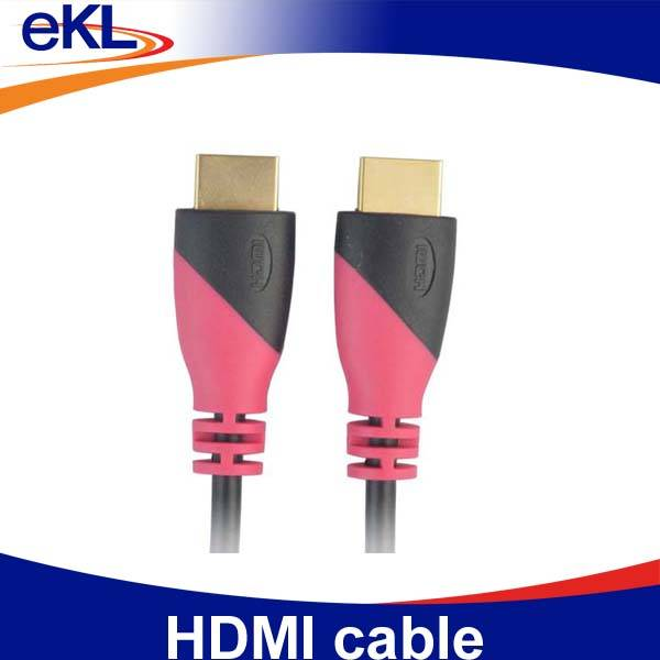 High quality HDMI cable digital 24K gold plated shenzhen manufacturer