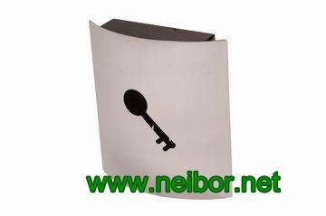 metal key box