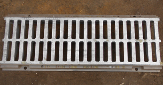 Continuous Gully Grating