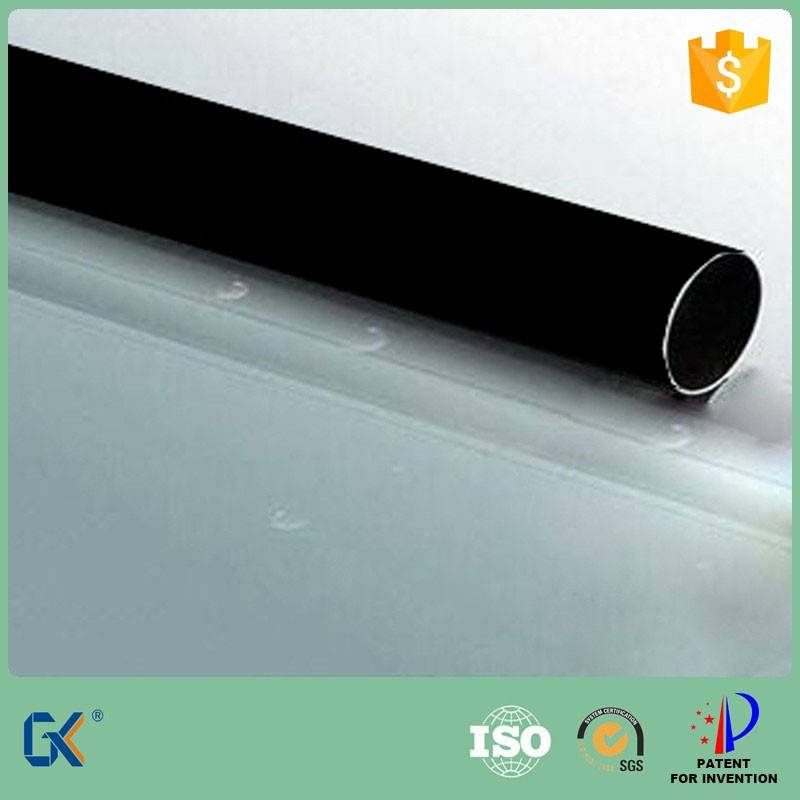 Black chrome plated copper pipe for parabolic trough solar collector