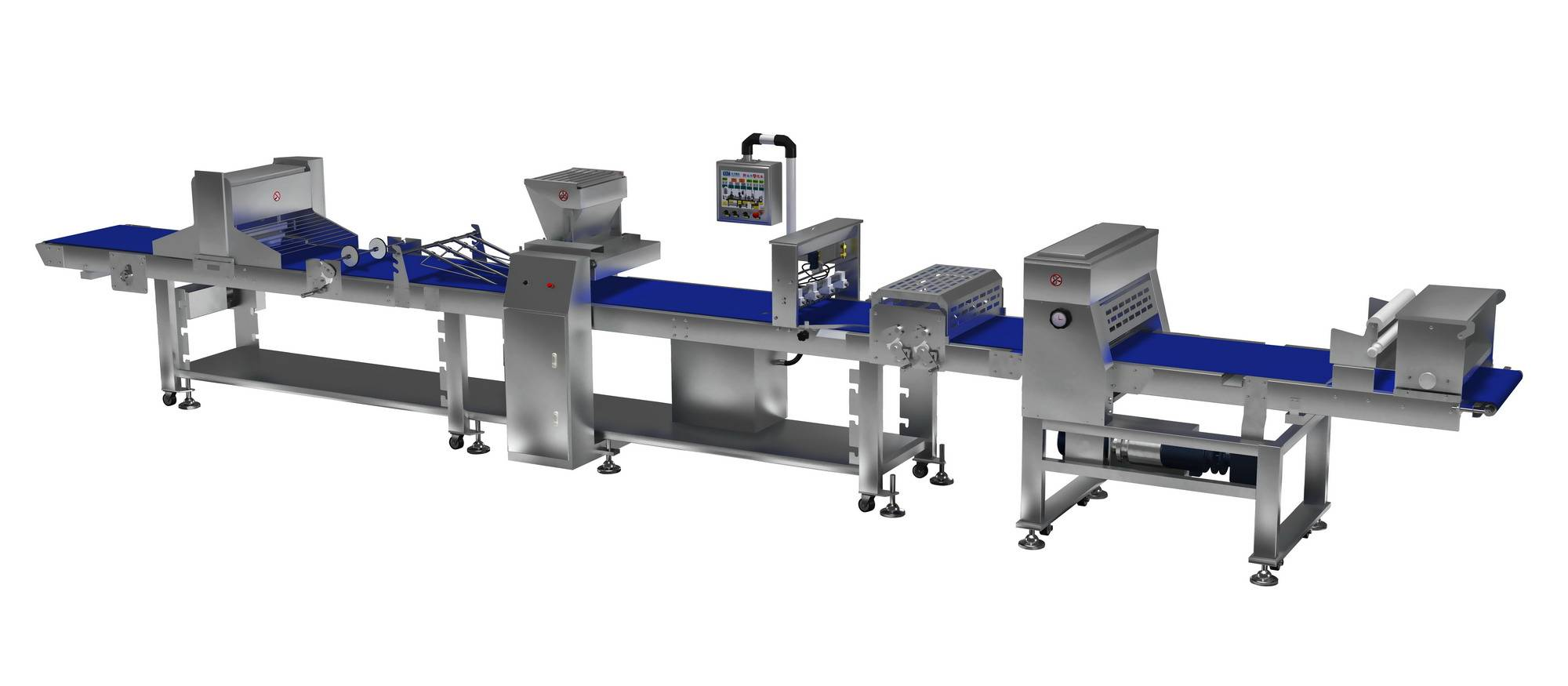 Danish pastry forming machine
