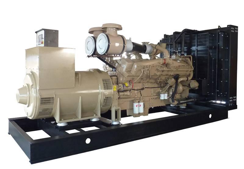 62KVA to 787KVA DOOSAN-DAEWOO Diesel Generator Set With Stamford Generator