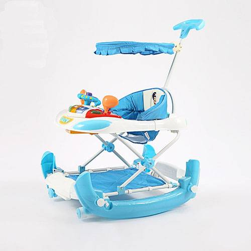 2 in 1 baby walker with rocking