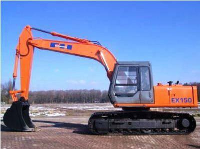 Used Hitachi EX150 Crawler Excavator