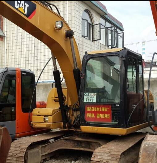 Used Crawler Excavator CAT 312D
