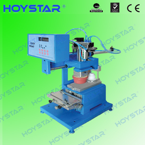 promotion price closed ink cup one color pad printing machine