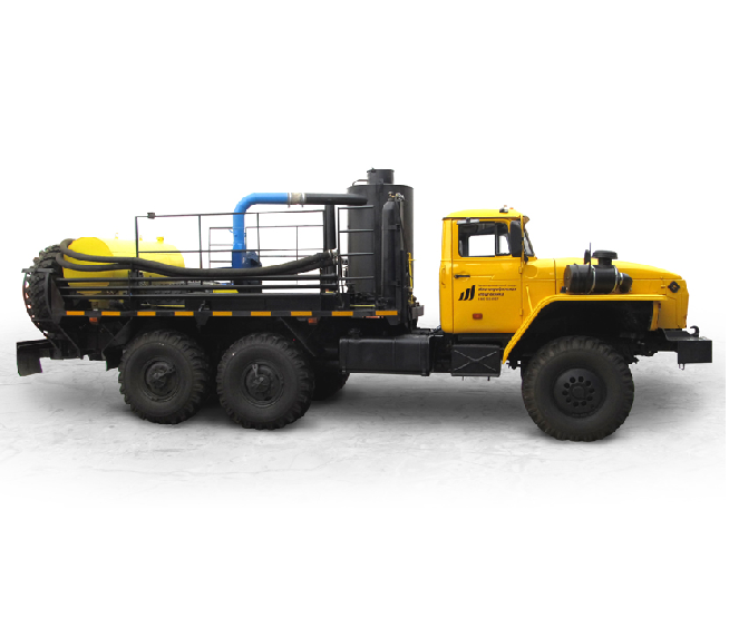 UNISTEAM-AI 6x6 hot oil trucks (hot oilers) for dewaxing treatment and increasing of oil extraction