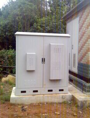 DDTE019  IP55 Outdoor Telecom Cabinet, Street Cabinet, with Air Conditioner or Heat Exchanger