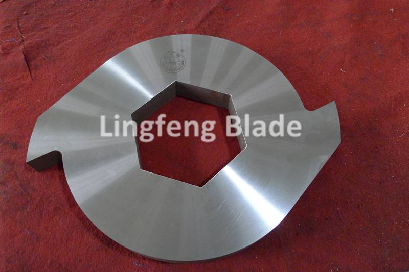 industrial plastic shredder blades