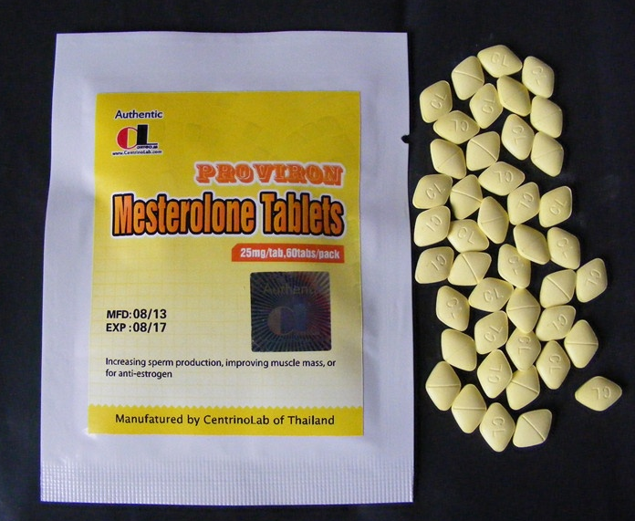 Proviron(Mesterolone Tablets) 25mg60 pills