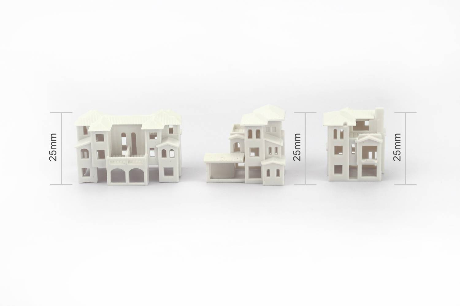 Architectural Scale Model Miniature of Building Mini House Villa