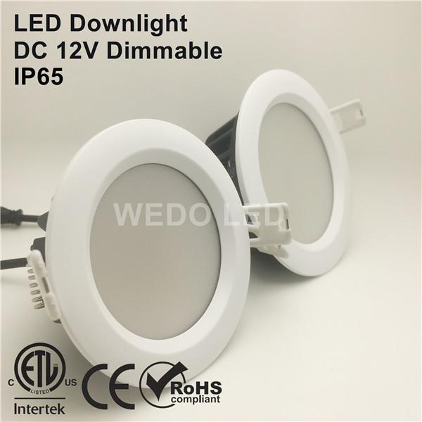 ETL Showcase Ceiling Recessed 7W LED Downlight