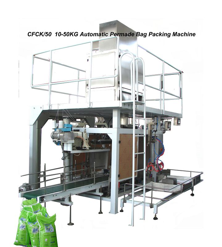 10-50kg Automatic Bag Feeding and Packaging Machine (GFCK/50)