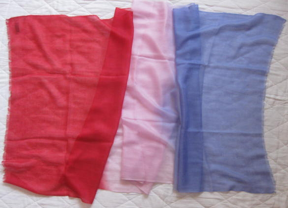 200 Cashmere scarves,100% superfine cashmere, shaded