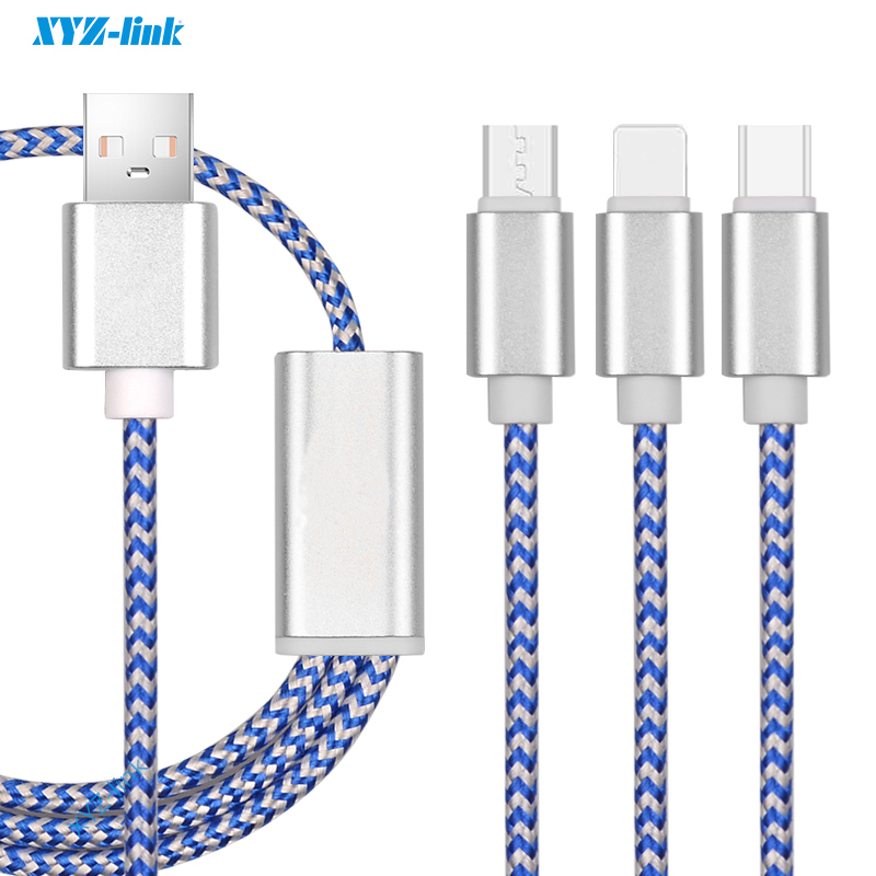 From wholesale alibaba Good Quality nylon braided usb cable