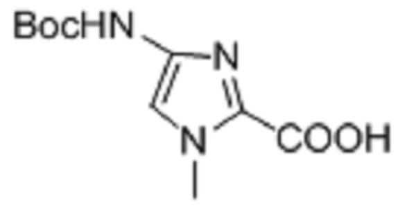 4-Tert-butoxycarbonylamino-1-methyl-1H-imdazole-2-carboxylic acid