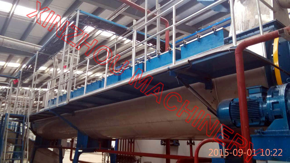 Fishmeal processing plant