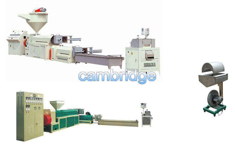 PE and PP Recycling Pelletizing Machine