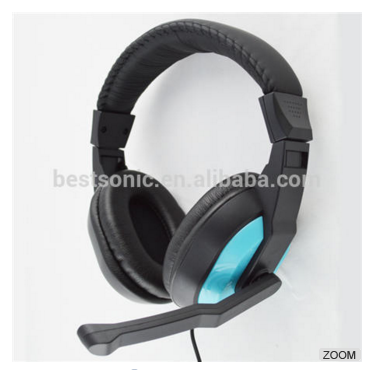 New Design Headphone Wired Gaming Headset,Noise Cacelling Earphone For Xbox 360/PS3/PS4/PC