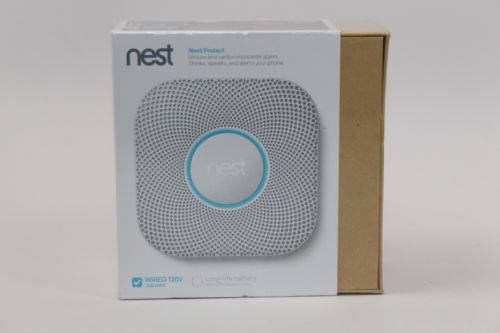 Nest Protect 2nd Generation Smoke & Carbon Monoxide Detector Wired