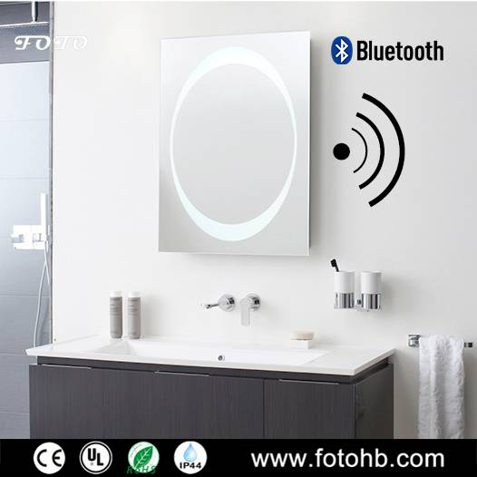 Bluetooth Mirror with LED Illuminated